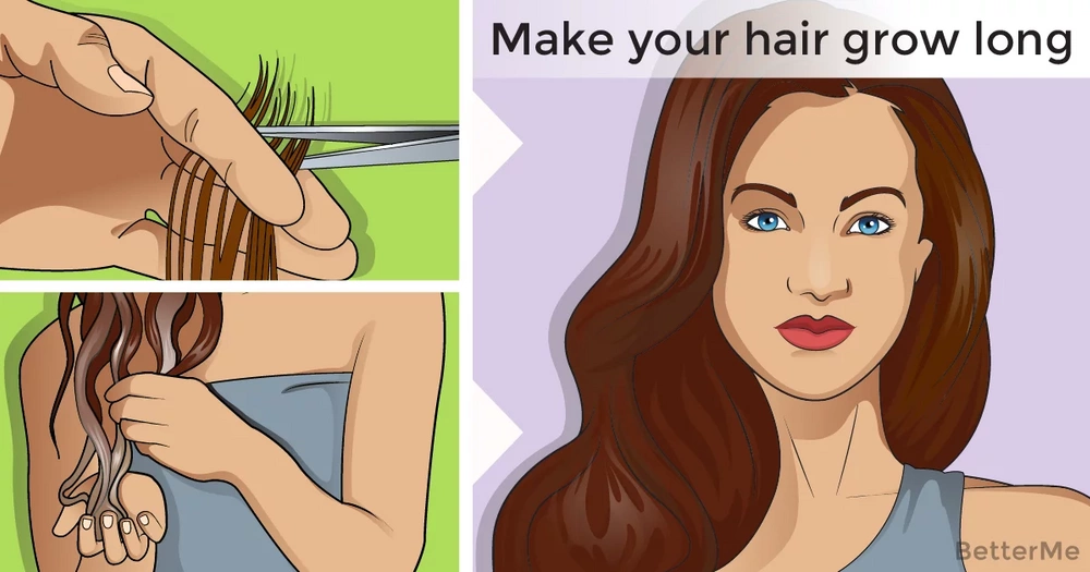 11 ways that can make your hair grow long