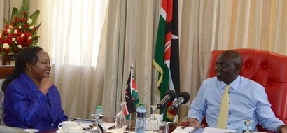 5 photos which reveal Waiguru and Ruto were close buddies