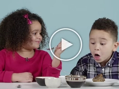 Adorable American kids try delicious food from the Philippines