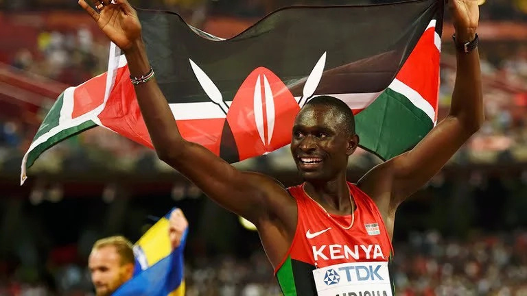 David Rudisha and two Kenyans qualify for 800 metre semis