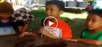 Talentadong bata: Amazed netizens go crazy over poor little boy in Iloilo singing difficult Aegis song