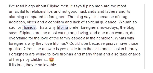 Foreigner explains: why young good-looking Filipinas want to be with older men