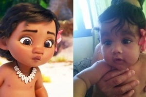 We found her! Netizens go cray over this adorable Pinay baby from Olongapo who looks like Moana
