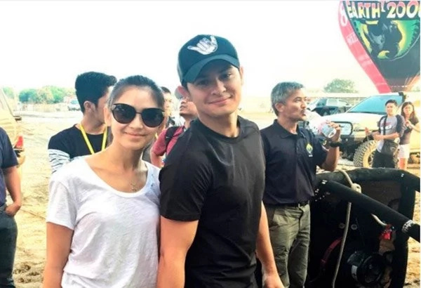 Sarah and Matteo spotted on a very public date