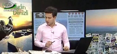 Stray Cat Walks Into Live News Broadcast, Presenter's Eyes Say It All (Video)