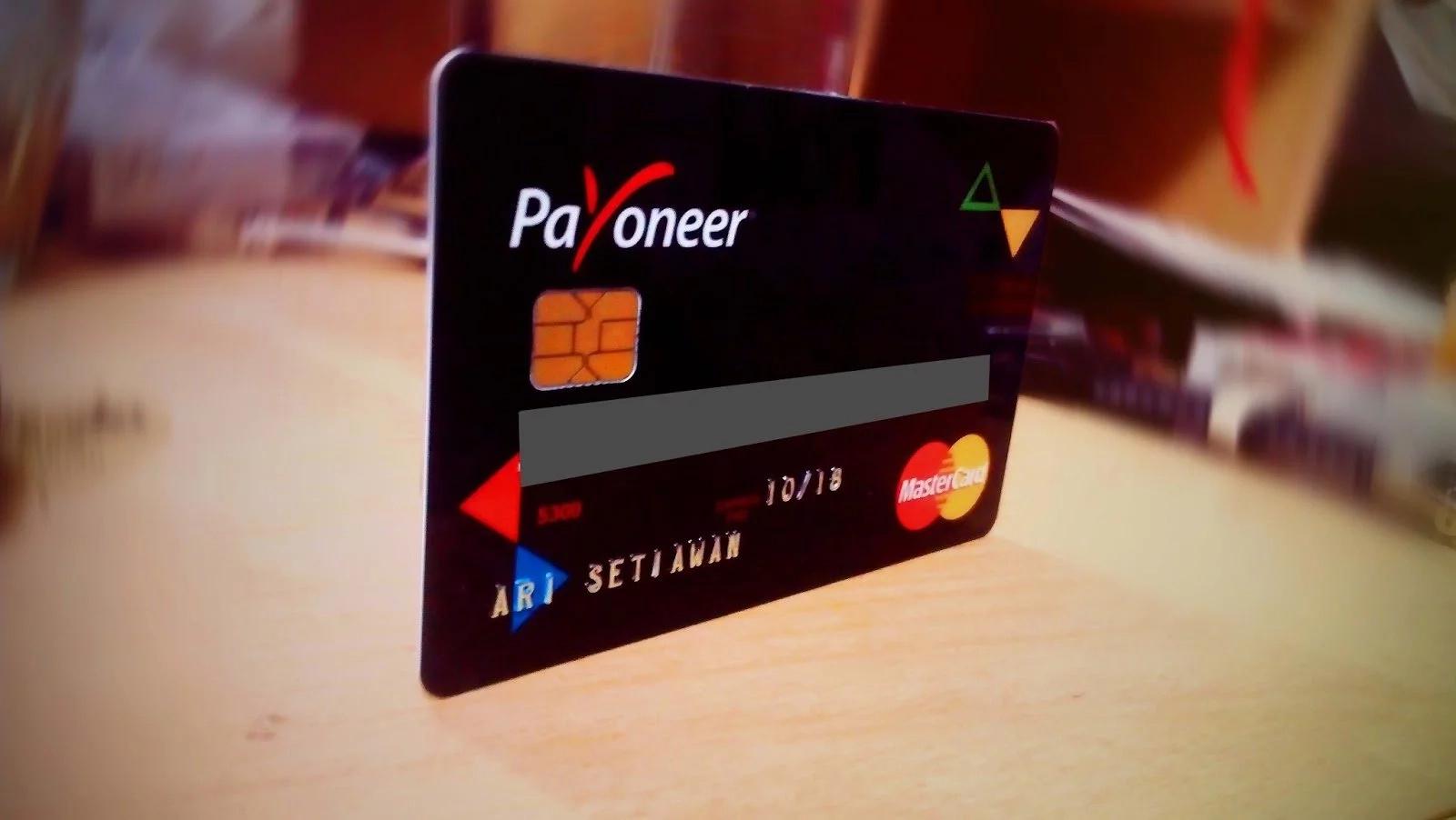 Payoneer Kenya card