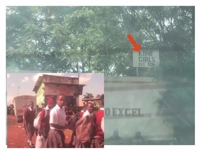 Netizens agry after school chased school-girls away late in the afternoon for reporting late