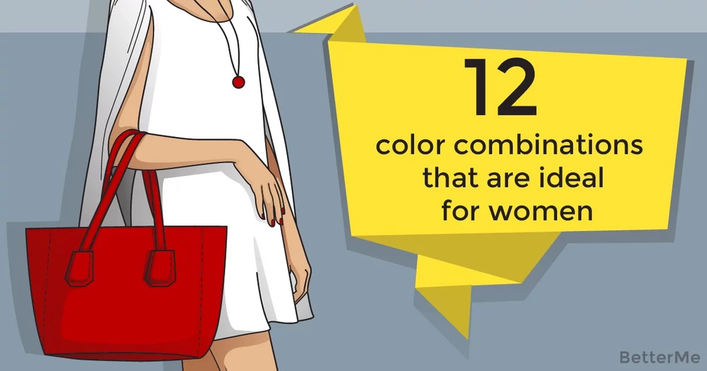 12 color combinations that are ideal for women