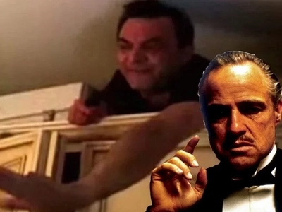 Italian Mafia boss that was on the run for 5 years was caught hiding in his closet