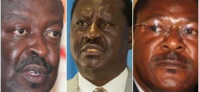 More trouble for Raila as Mudavadi's party mulls ditching NASA