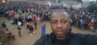 Watoto wa mwanahabari wa Citizen TV wamtumia ujumbe wa kugusa moyo kufuatia shambulizi katika hafla ya NASA