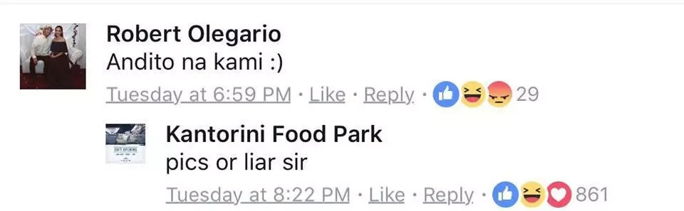 Food park's getting lesser customers, witty admin gets everyone's attention!