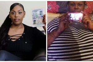Woman, 28, forced to STRIP at airport to prove her identity after dramatic 82.5kg weight loss (photos)