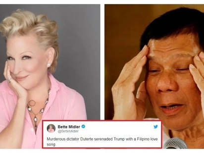 "Ininsulto si Duterte! Hollywood star calls President Duterte a ""dictator"" on Twitter"