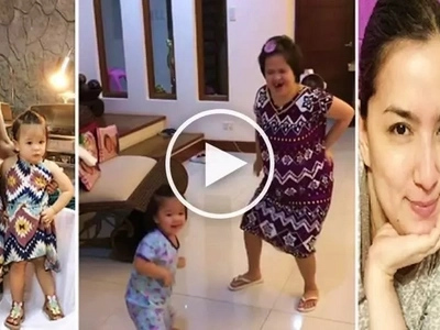 Watch Ara Mina's daughter and sister dance to the tune of 'Shape of You' in this viral video!