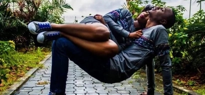 Hotter than fire! This couple's pre-wedding pictures have gone viral