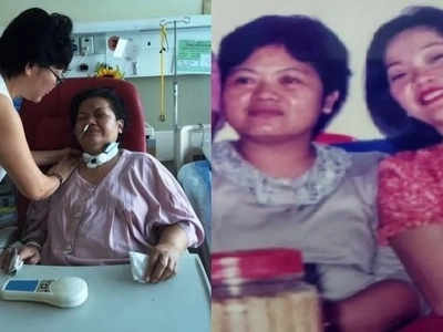 Mapagmahal na amo: Heartbreaking photos of Singaporean woman caring for her sick OFW maid go viral
