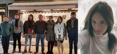This is how Ellen Adarna spends White Christmas in Japan with her family