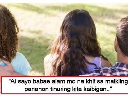 """""""Tanggap q n sau liligaya ung taong minahal q ng higit pa sa srli q.."""" This woman shares her heartbreaking story"""