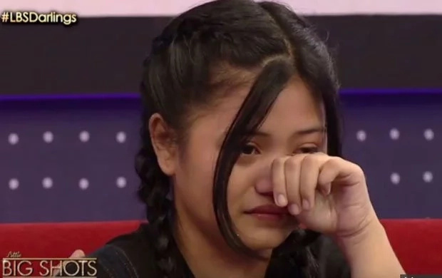 Kathniel unintentionally makes girl cry in Little Big Shots