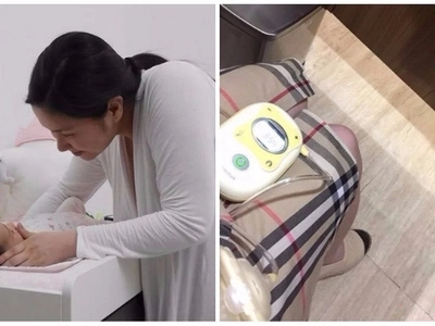 Mariel Padilla shares how careful she was while pumping milk in a public restroom.