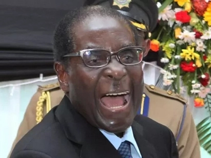 Conspiracy theorists now suggest Zimbabwe army general swapped Mugabe's much-awaited resignation speech