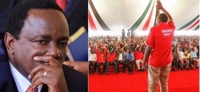 Uhuru azidi kuivuruga kambi ya NASA huku akivuna zaidi ya wafuasi 7,000
