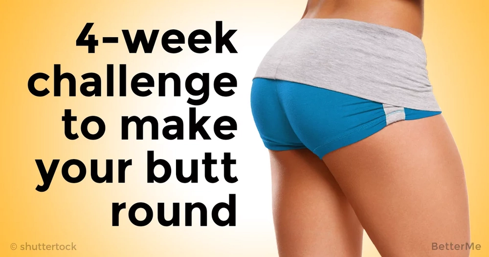 4-week challenge that can help you get well-rounded shape butt