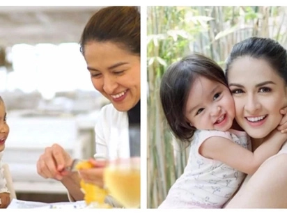 Get to know how Marian Rivera taught baby Zia to eat vegetables