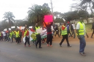 Pedestrian killed in Rongai as residents protest rogue drivers (Photos)