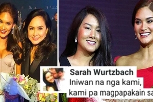 Pia Wurtzbach's sister Sarah fired back against their half-brother & late dad's partner! Charo Santos also opened up about the issue!