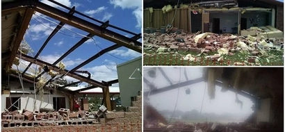 God is great! Tornado destroys church but leaves 45 parishioners inside miraculously unharmed (photos)