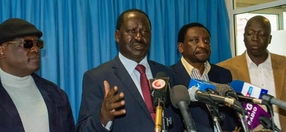 Raila's statement on 'nusu mkate' claims and anti-IEBC demos
