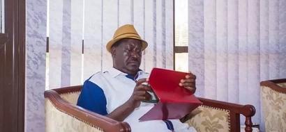 Raila Odinga hits the gym in Mombasa in shorts (photos)