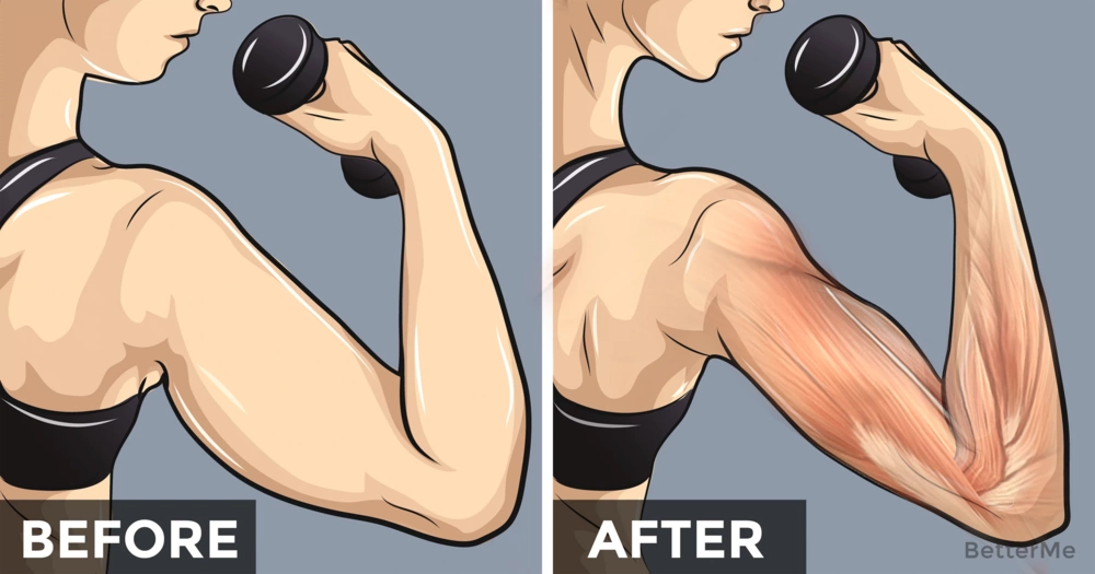 6 simple exercises to get rid of flabby arms