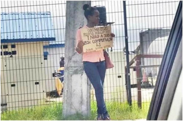 Forget Placards, this DESPERATE woman begs for a job on social media, and the responses she got are UNBELIEVABLE