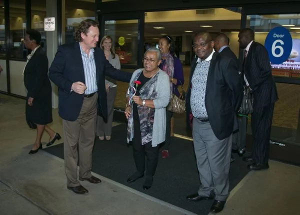 Margaret Kenyatta gets a big boast from America