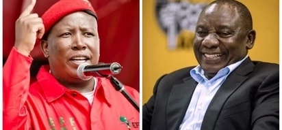 Malema tells Ramaphosa to donate his presidential salary to public health care