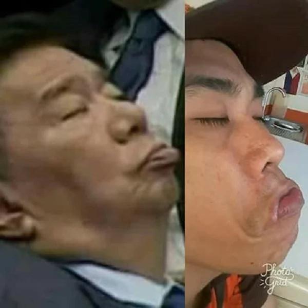 Bagong challenge na naman ito! #DrilonSleepingChallenge has gone viral on different Social media sites