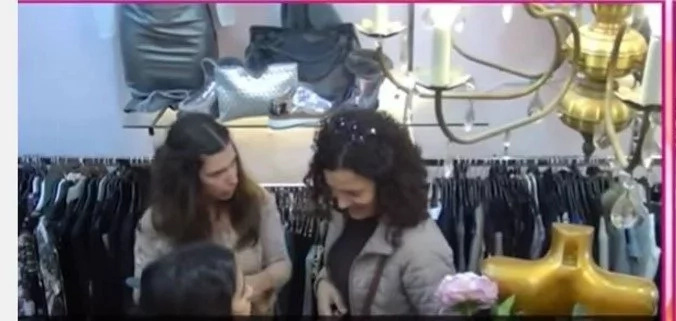 "Woman in dress shop humiliated by husband as ""cheap"" then bystanders intervene!"