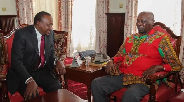 Moi's message to Uhuru days after threatening to join NASA