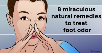 8 miraculous natural remedies to treat foot odor
