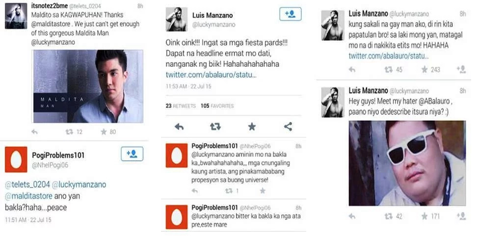 10 local celebs respond to their bashers