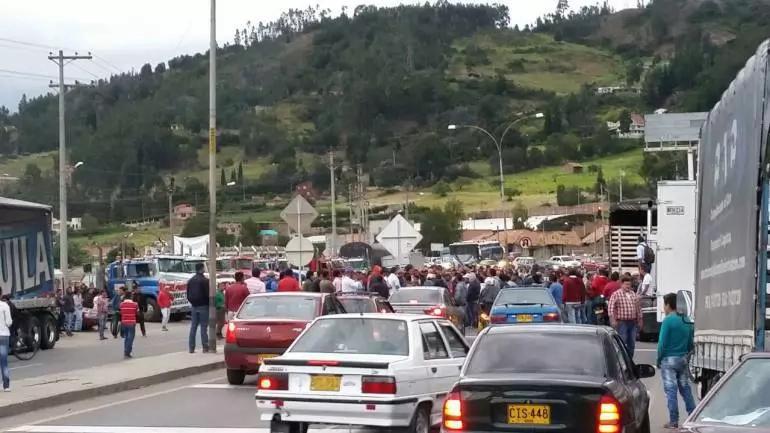 Orden público en el país alterado por el paro camionero