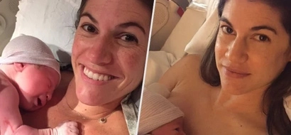 Identical twin sisters give birth on the same day, same time