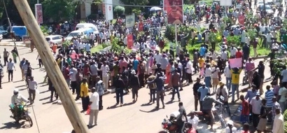 Cord warned with counter demos should they protest on Monday