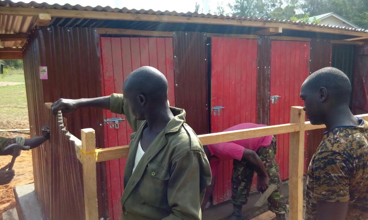 Seeing how these KDF soldiers are helping the community will make you happy