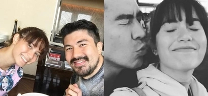 Jessy Mendiola and Luis Manzano display their affections for each other in Japan