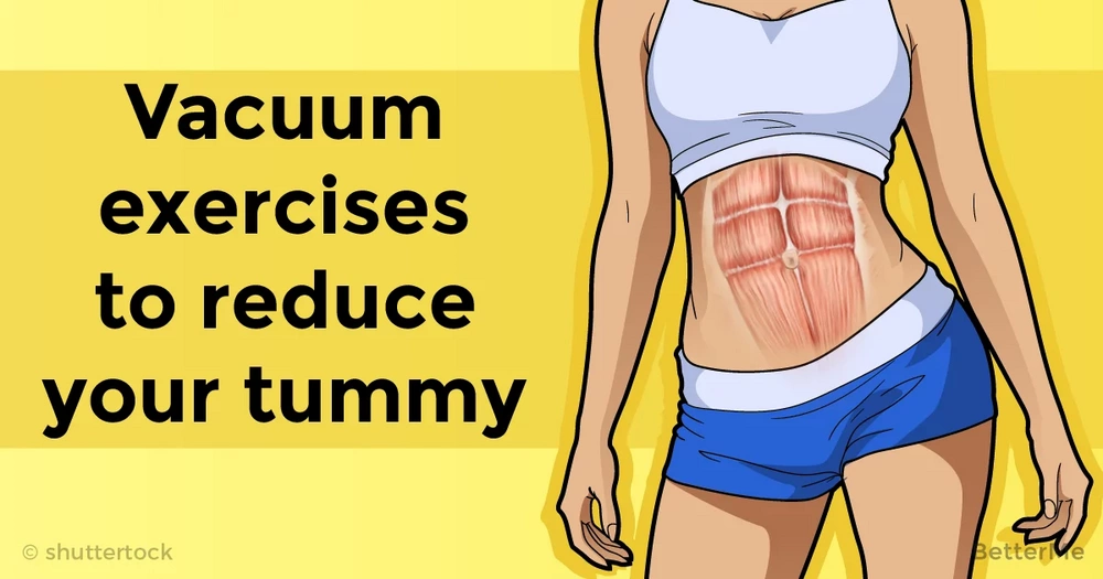 Vacuum exercises to reduce fat from stomach