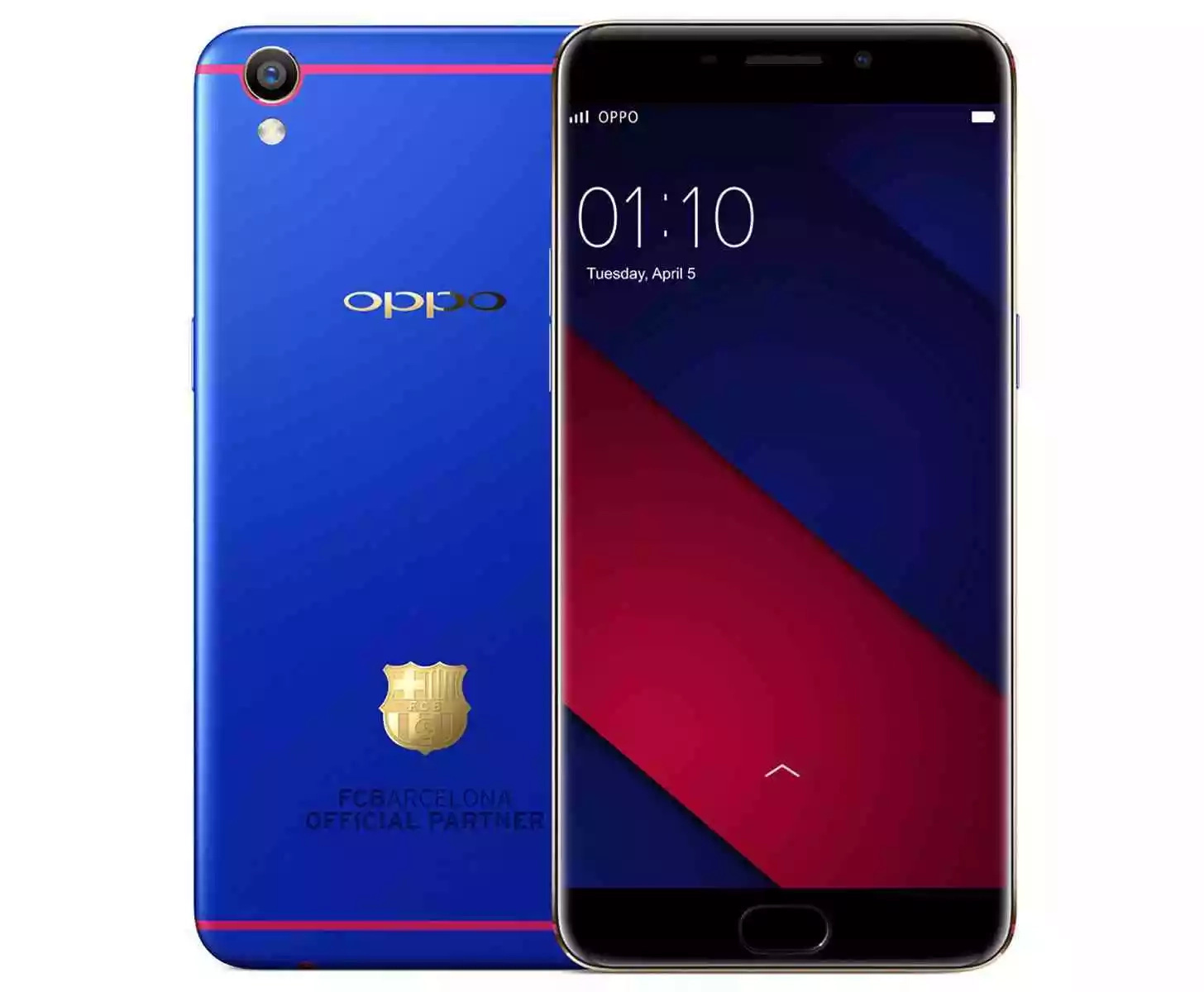It's Here – The OPPO F3 FC Barcelona Limited Edition